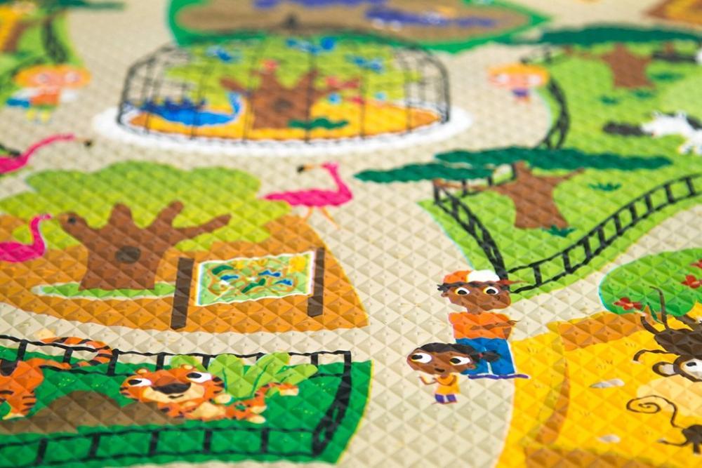 Covoras de joaca Prince Lionheart Awesome CityZoo