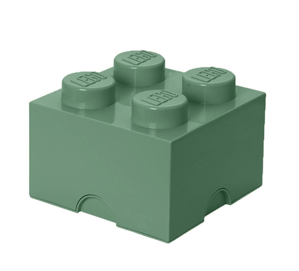 Cutie depozitare 2X2 verde nisip