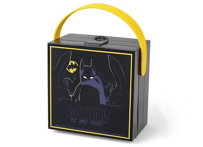 Cutie pentru sandwich Lego Batman cu maner