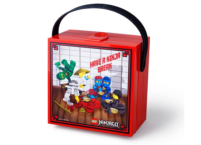 Cutie pentru sandwich Lego Ninjago cu maner (40511733)