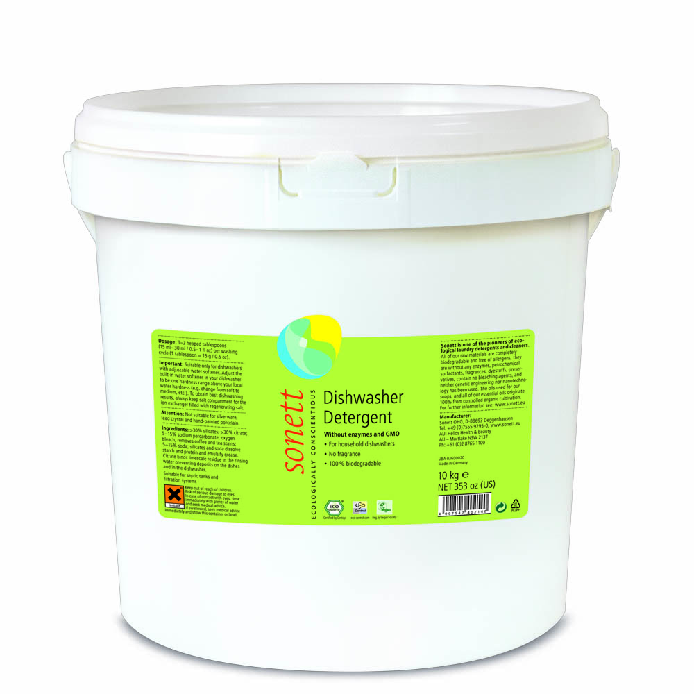 Detergent ecologic praf pentru masina de spalat vase Sonett 10kg