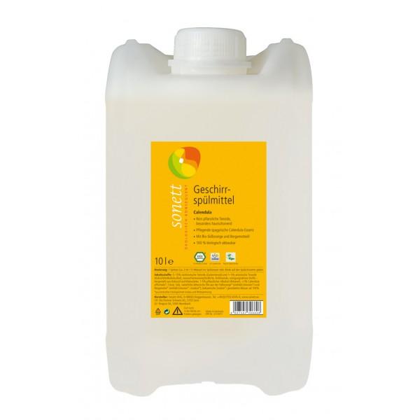 Detergent ecologic pentru spalat vase galbenele Sonett 5L