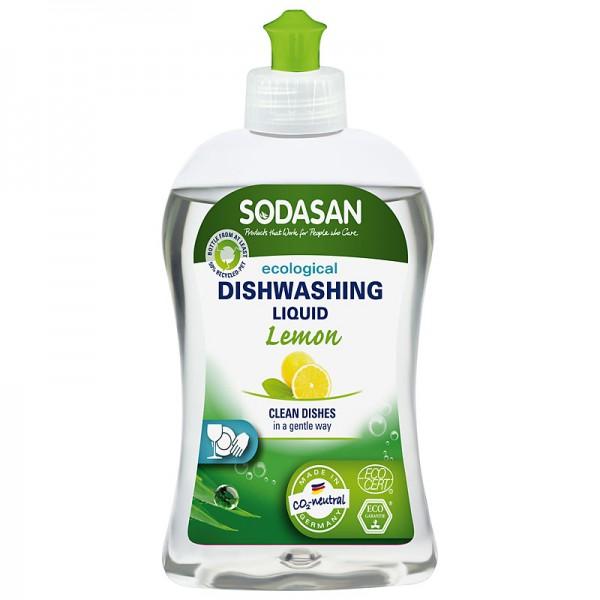 Detergent lichid ecologic pentru vase cu lamaie 500ml din categoria Alimentatie de la SODASAN