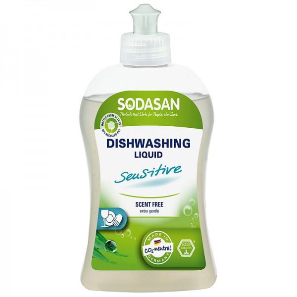 Detergent lichid ecologic pentru vase sensitiv 500ml