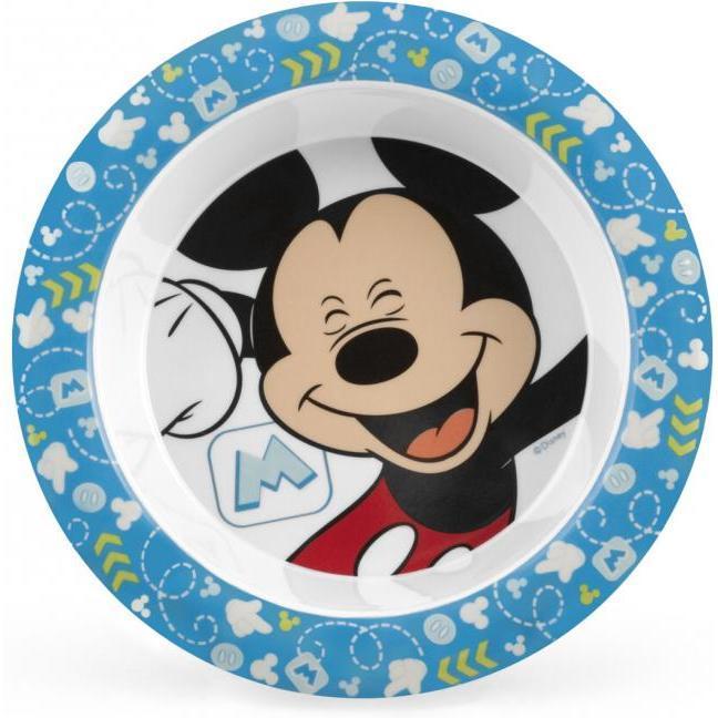 Farfurie adanca melamina Mickey Lulabi 7965705