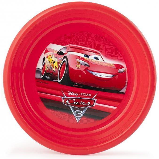 Farfurie adanca plastic Cars 3 Lulabi 8013702