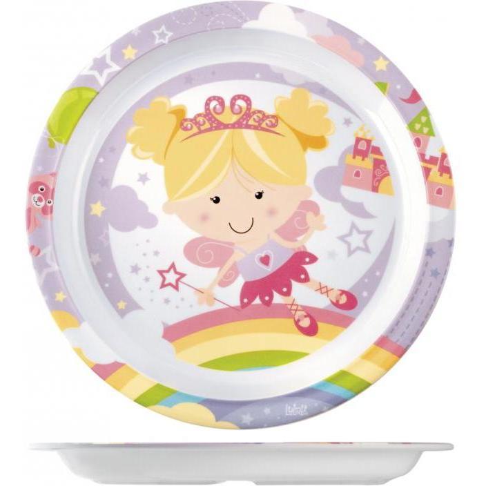 Farfurie melamina Fairy Tales Lulabi 7945001