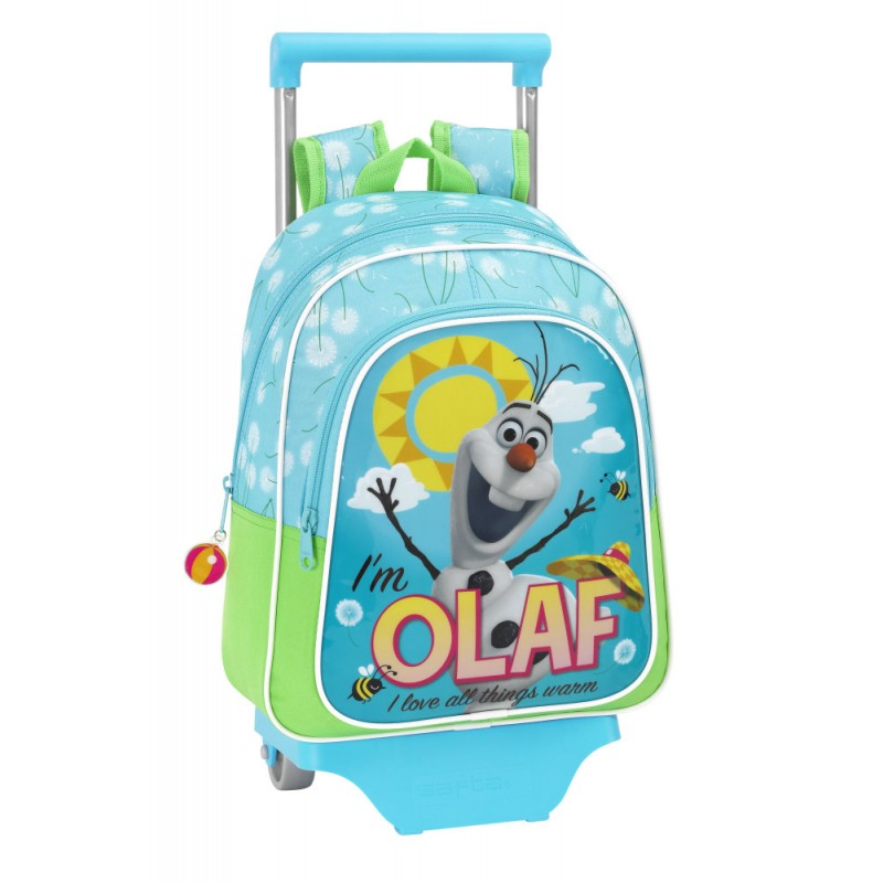 Ghiozdan tip troler Disney Frozen Olaf