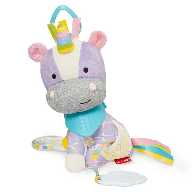 Jucarie cu activitati pentru carucior Skip Hop Bandana Pals Unicorn