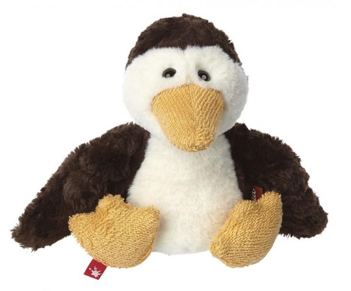 Jucarie de plus sigikid Pinguin cu valiza