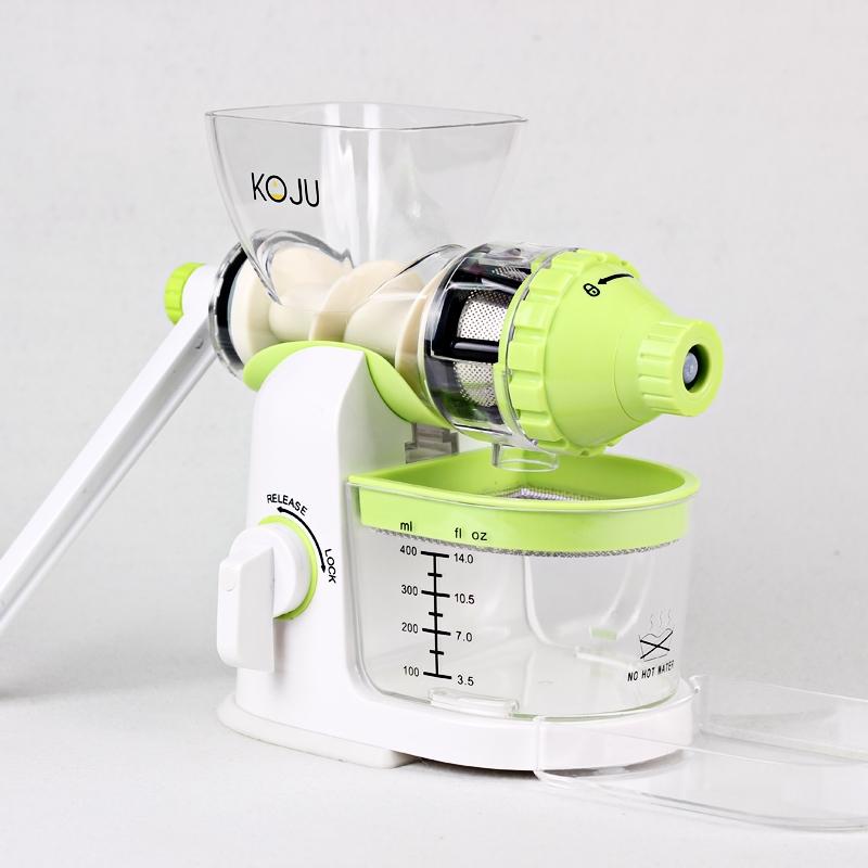 KOJuicer storcator manual BPA free