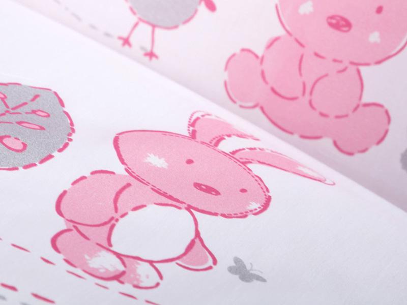 Lenjerie patut copii Klups Little Bunny K023