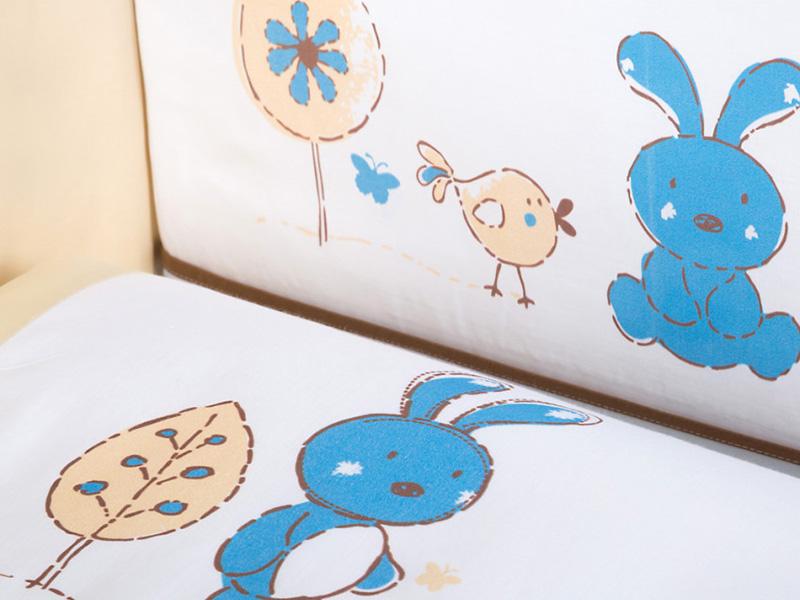 Lenjerie patut copii Klups Little Bunny K024