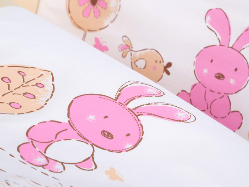 Lenjerie patut copii Klups Little Bunny K026