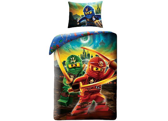 Lenjerie de pat Lego Ninjago Movie (LEG-613)