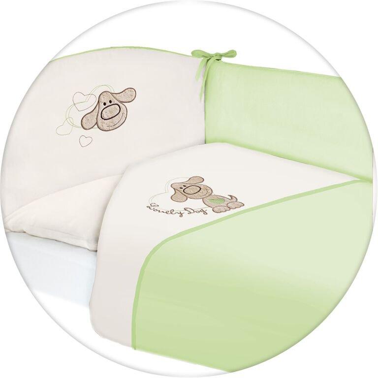 Lenjerie de pat cu 3 piese Lovely Dog