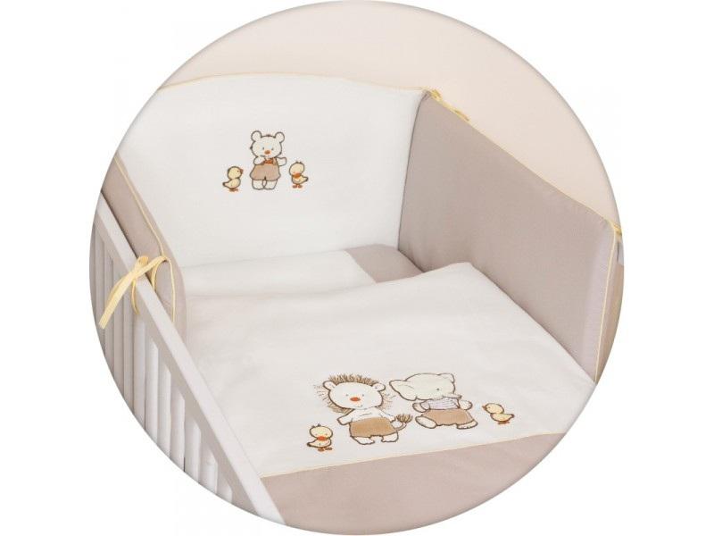 Lenjerie de pat Ceba Baby cu 3 piese Ratuste