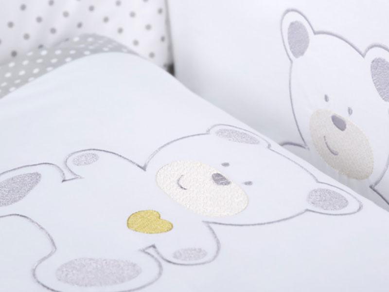 Lenjerie patut copii Klups Sweet Bear H165