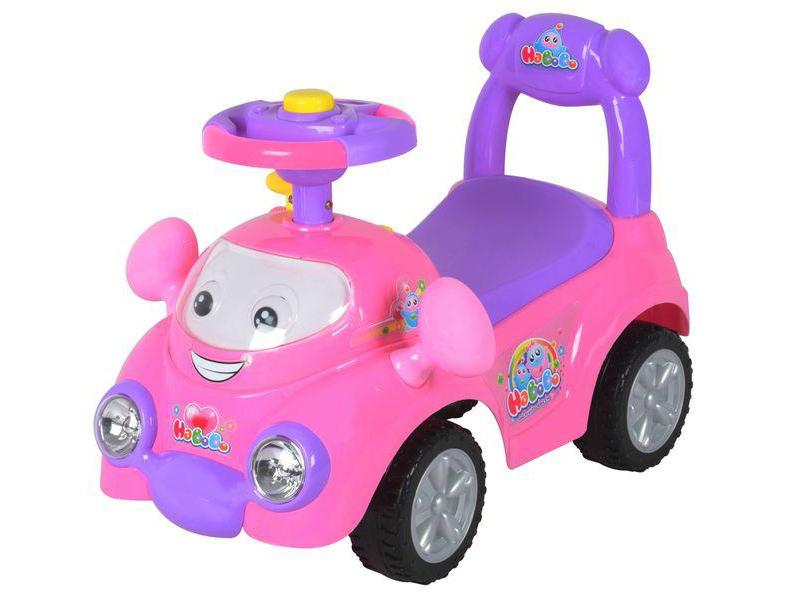 Masinuta de impins copii Baby Mix URZ313 Pink imagine