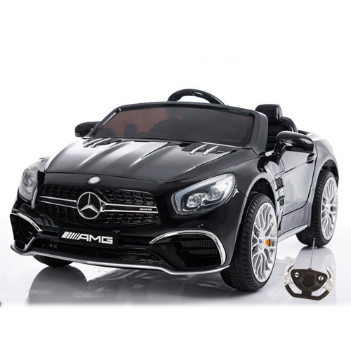Masinuta electrica cu telecomanda 2.4 Ghz Mercedes Benz AMG SL65 Black