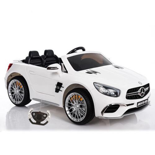 Masinuta electrica cu telecomanda 2.4 Ghz Mercedes Benz AMG SL65 White