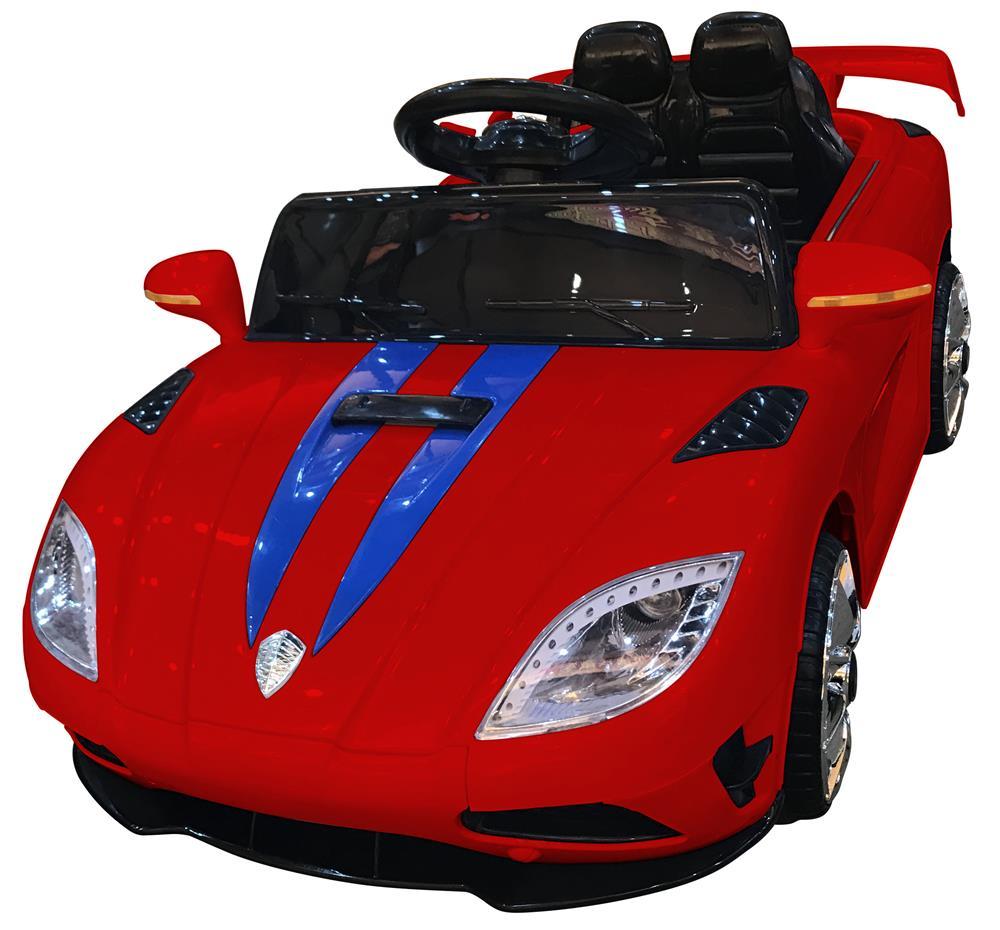 Masinuta electrica cu telecomanda 2.4 Ghz si deschidere usi Tiger Red