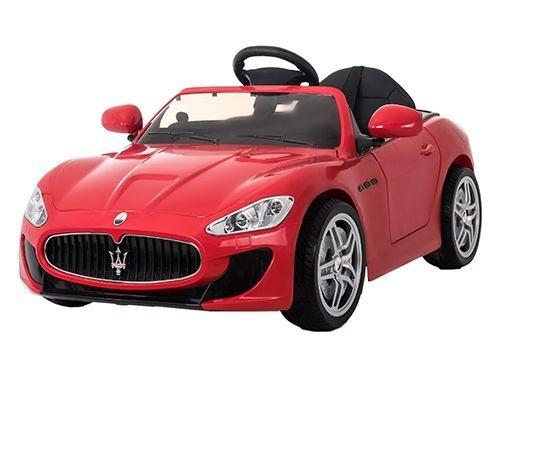 Masinuta electrica cu telecomanda 2,4 Ghz si roti eva Maserati Red