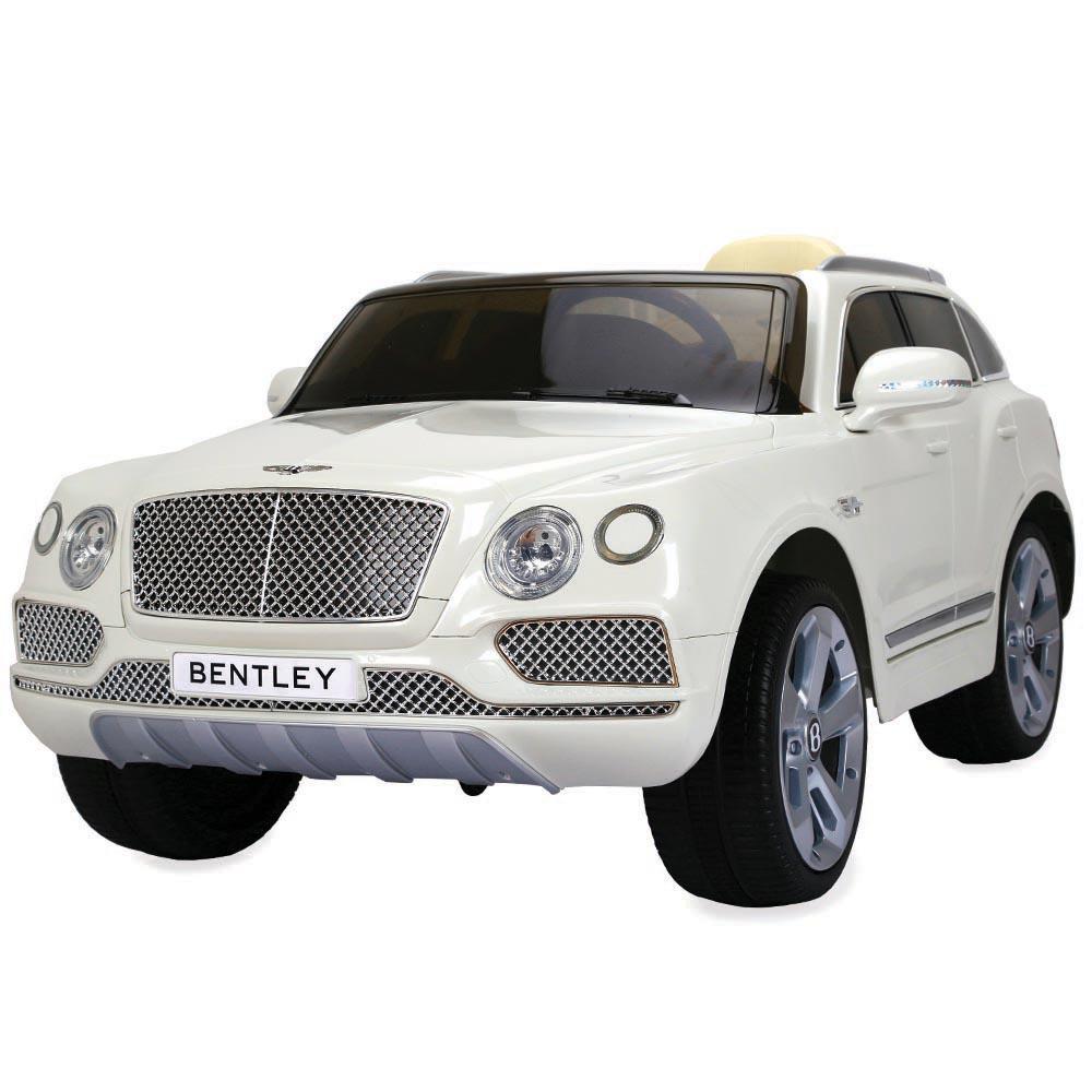 Masinuta electrica cu telecomanda Bentley White