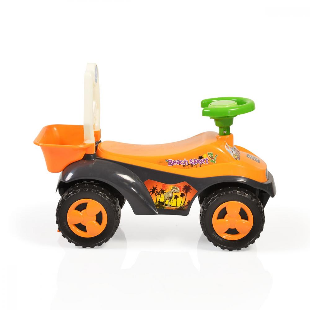 Masinuta fara pedale Sand Beach Car Orange