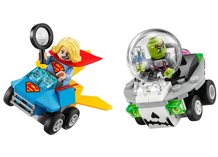 Mighty Micros Supergirl contra Brainiac