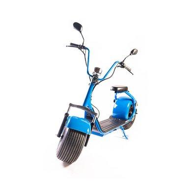 Moped Electric Freewheel City Rider Omologat Rar Albastru