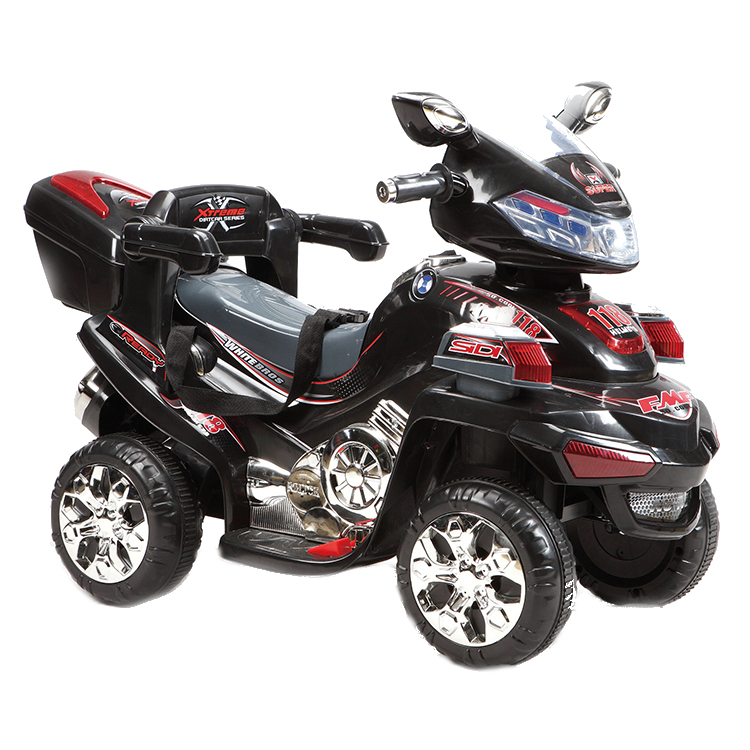 Motocicleta electrica cu telecomanda Buggy Black