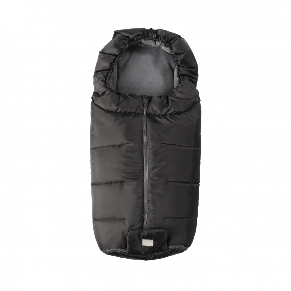 Sac de iarna Nuvita Essential BlackDark grey 9445