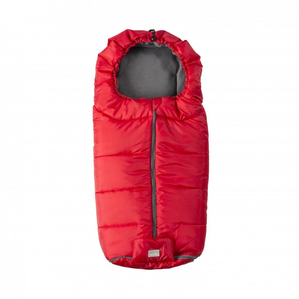 Sac de iarna Nuvita Essential RedDark grey 9445