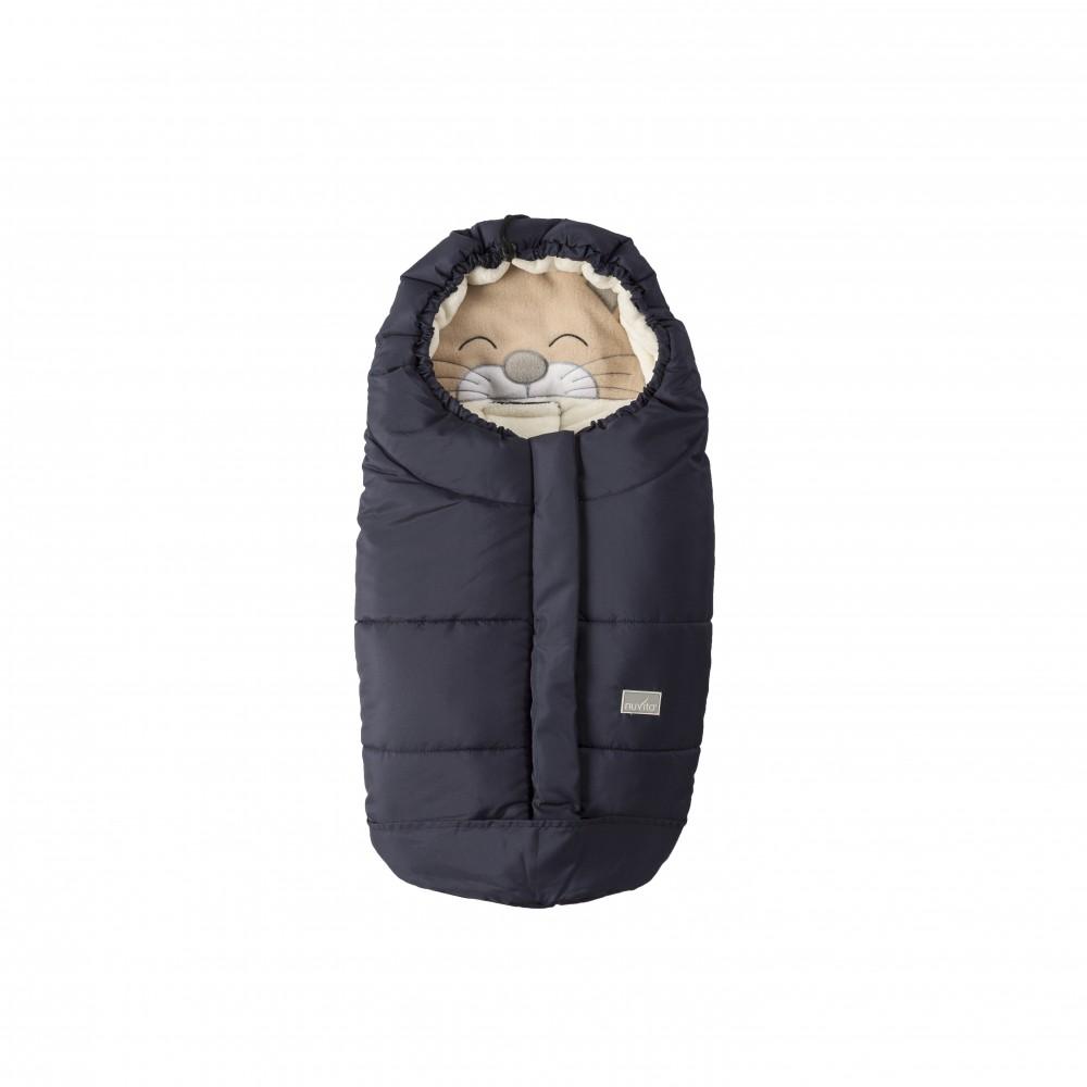 Sac de iarna Nuvita Ovetto Cuccioli Cat BlueBeige 9205