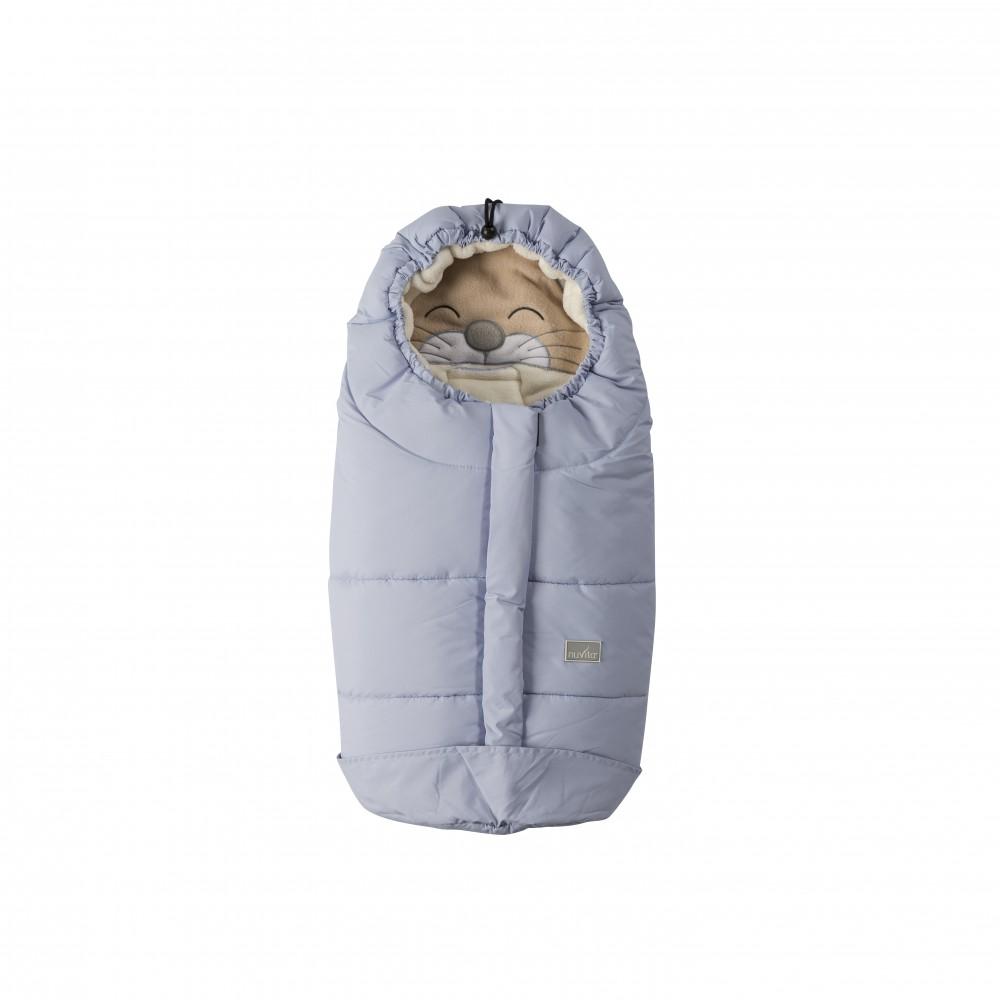 Sac de iarna Nuvita Ovetto Cuccioli Cat Soft blueBeige 9205
