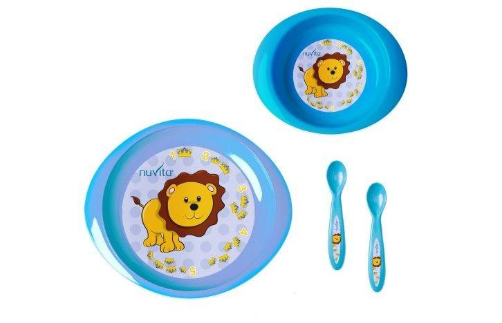Set de masa pentru copii Nuvita 1495 albastru