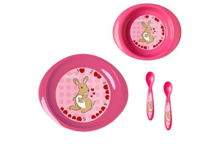 Set de masa pentru copii Nuvita 1495 pink