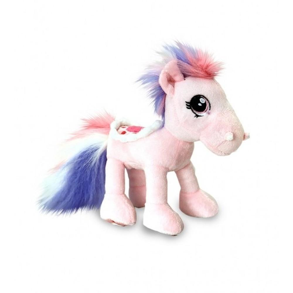 Ponei de plus roz 18 cm Keel Toys