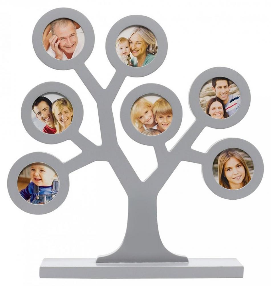 Rama foto Pearhead Family Tree Frame gri