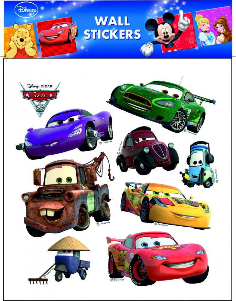 Sticker de perete Room Decor Cars 38x30cm