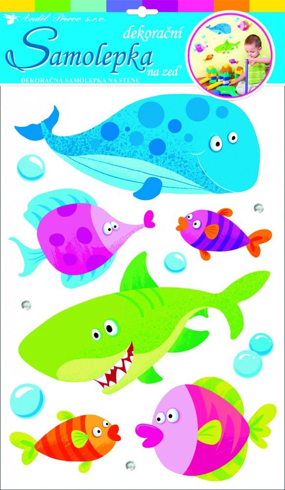 Sticker de perete Room Decor pestisori 50x30cm