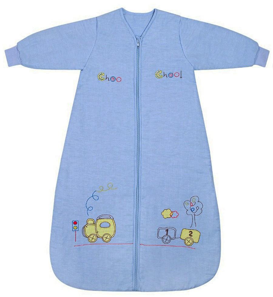 Sac de dormit cu maneca lunga Choo Choo 0-6 luni 2.5 Tog
