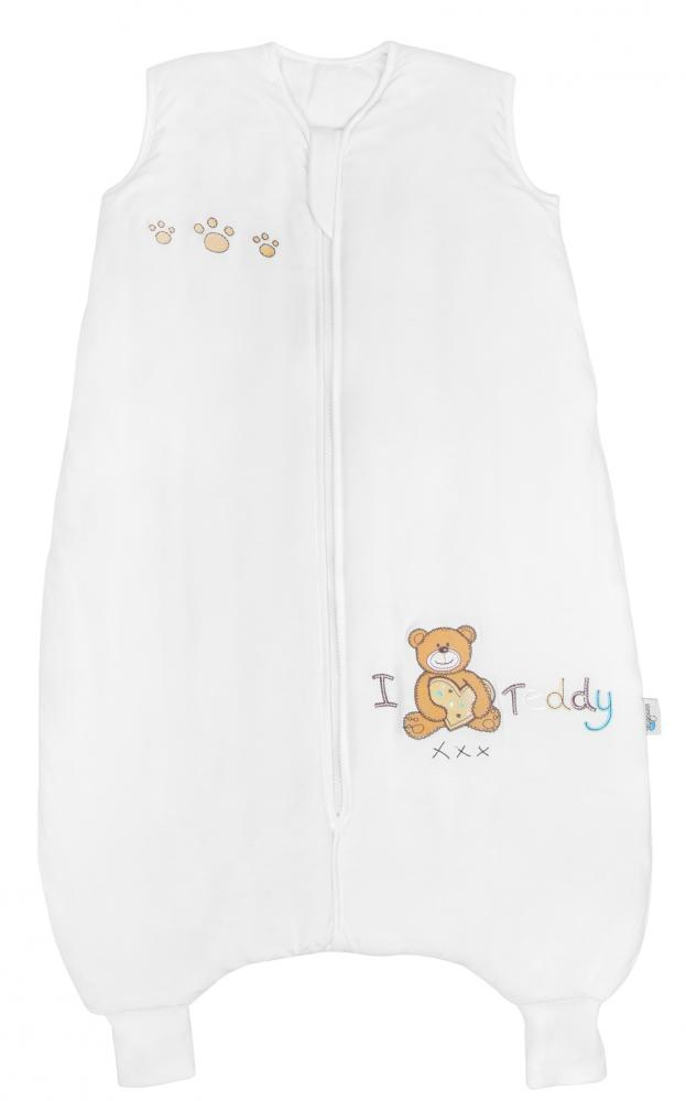 Sac de dormit cu picioruse Bamboo I Love Teddy 2-3 ani 1.0 Tog