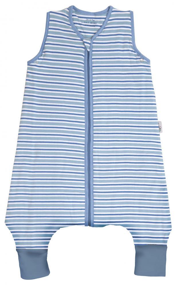 Sac de dormit cu picioruse Blue Stripes 12-18 luni 1.0 Tog