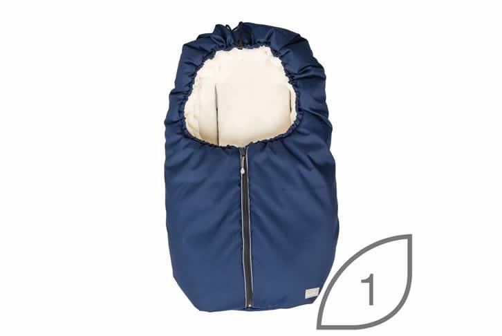 Sac de iarna 2in1 9845 Nuvita Carry On 2in1 BrownBeige