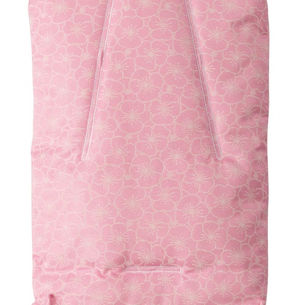 Sac de iarna Nuvita Ovetto Pop Pink flowerBeige 9215