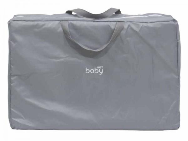 Saltea pliabila cu geanta de transport Just Baby Gri