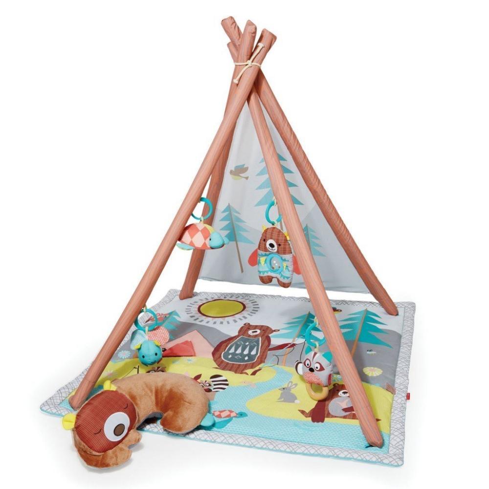 Salteluta de joaca cu activitati Skip Hop Camping Cubs