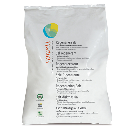 Sare regeneranta ecologica pentru masina de spalat vase 2kg Sonett